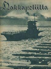 Finland Wartime Magazine Hakkapeliitta 1941 #22 - WWII Aircraft carrier