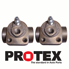 P6005 x 2 - Protex Wheel Cylinders Rear Left + Right HOLDEN FC FE FJ