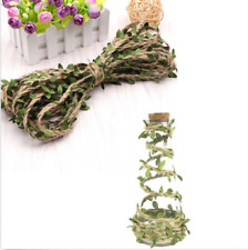 DIY Faux Leaves Twine String Garlands Rope Wedding Home Party Decor 2M Helpful