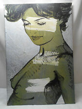David Bromley Original Painting CHARLOTTE #526 90x60cm