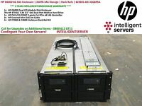 HP D6000 6G SAS Enclosure | 210TB SAS Storage | Rack Rails | 625031-B21 QQ695A