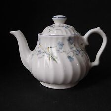 Small Kirsty Jayne 2 Cup / 1Pint Teapot Blue Harebell - Nice Fluted Design