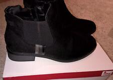d1d36d4e1f3d tolle Chelsea-Boots Stiefeletten RIEKER,Gr. 39,schwarz,leichtes  FleeceFutter,
