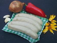 10 Grillwürste vom Schwäbisch-Hällischen Landschwein lecker lecker