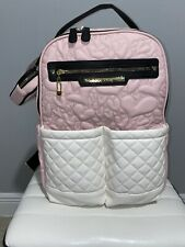 Betsey Johnson Baby Bag  Insulated Bottle Holders Padded Changing Pad Multi...