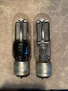3 RCA 845 tubes valves