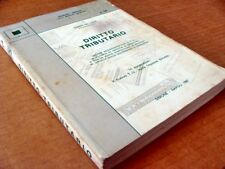 """124) """"DIRITTO TRIBUTARIO"""" di Gianni De Luca (1987)"""