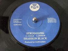 SHARRON BLACK STRUGGLING TOPS RECORDS 1970s