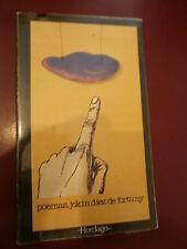 Poèmas Jokin Diez de Fortuny