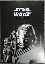 The Rise Of Skywalker Star Wars Odeon Cinema A4 Promo Poster Knights of Ren