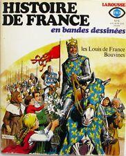 Histoire de France en Bandes dessinées n°6 - Fr3 - Bouvines - Les Louis - 1976