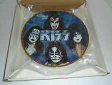 KISS AUTOGRAPHED SIGNED GARTLAN 10''  PLATE   -   FREHLEY SIMMONS STANLEY CRISS