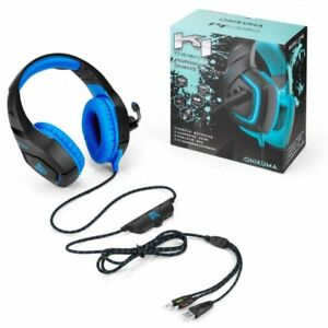PC Gaming Headset for PS4 Xbox One with Mic Stereo Surround 3.5mmJack Headphones
