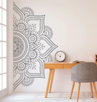 Wall Art Decals Mandala Decal Boho Decor Headboard Bohemian Stickers Yoga Studio