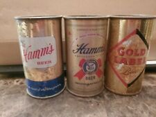 Flat Top Hamm's And Gold Label