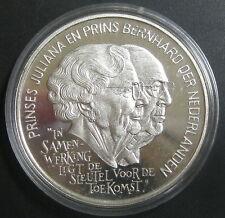 PAYS-BAS  - 25 ECU 1994 - Princesse Juliana Prince Bernhard - Argent -  BE