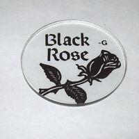 Bally BLACK ROSE 1992 NOS Original Pinball Machine Plastic Promo Disk G Above