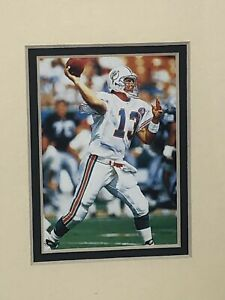 1995 Dan Marino Miami Dolphins Kelly Russell Lithograph NFL Art Print #3725