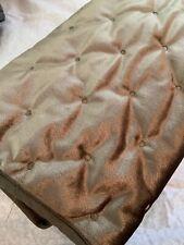 One CROSCILL Velvet Taupe Carissa Standard Pillow Sham  Nwot