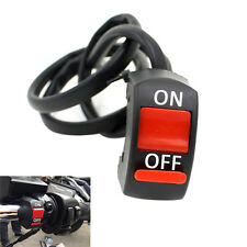 1x 12V Motorcycle Handlebar Accident Hazard Light Switch On/Off Button ZPZY