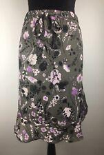 1c6e17cd5 Joe Fresh Flounced Floral Skirt Ruffle Hem Elastic Waist Size XL (H400)