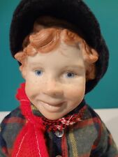 "Original Peace Doll ""Shawn"" by Helen McCook dated 1976"