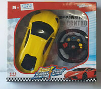Kids Remote Control Car  SL65 AMG RC Toys Car Red/yellow 1:18