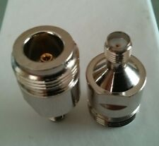 N Female To SMA Female Straight RF Connector Adaptor; US Stock; Fast Shipping