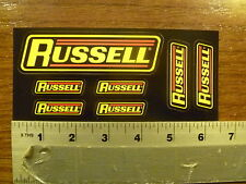 Russell Hoses 7 sticker sheet Sticker Decal