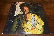 """STING - Vinyle 45 tours / 7"""" !!! IF I EVER LOSE MY FAITH IN YOU !!!"""