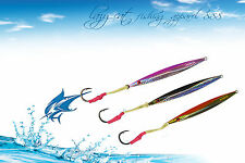 Top quality Fishing jigs Knife deep water lures 3 pack