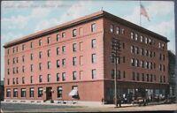 1910 Postcard: Allison Hotel - Cedar Rapids, Iowa