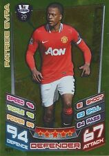 N°477 EVRA FRANCE LEGEND MANCHESTER UNITED TRADING CARD MATCH ATTAX TOPPS 2013