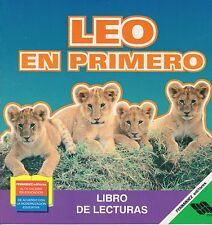 Leo en Primero Early Reading Book for Spanish Speaking Children Libro de Lectura