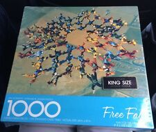Sealed Springbok Jigsaw Puzzle Free Fall  (Sky Diving)  Photo by Norman Kent