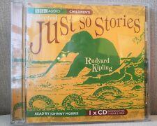 BBC AUDIO CD SELECTED JUST SO STORIES RUDYARD KIPLING AUDIO CD