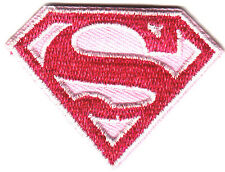 "SUPERGIRL LOGO(2"" x 1 1/2"") - DC COMICS-Iron On Patch/TV, Movie ,Cartoons"
