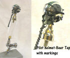1/6 scale Pilot helmet-2  as beer tap