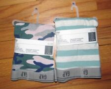 """GAP NWT Men/'s Med 32 33 34 set of 2 blue solid and dots 4/"""" boxer brief Non Fly"""