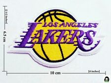Los Angeles Lakers Basketball  NBA Sport Logo iron-sewing-patch on fabric