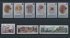 LO13739 World pets animals dogs fine lot MNH