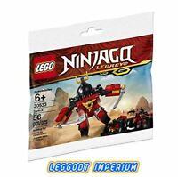 LEGO Ninjago - Sam-X Polybag - 30533 FREE POST