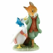 Beatrix Potter A27676 Jemima and The Foxy Whiskered Gentleman Miniature Figurine