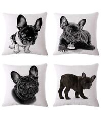 Frenchie Pillow/ Pillow Case 4 Piece