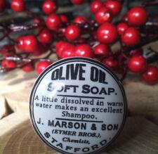 Möbelknopf  Vintage Knob Soap Oil Möbelknauf Knauf Schublade Schrank SchwarzWeiß