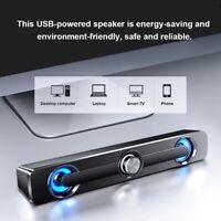 SADA V-111 Computerlautsprecher USB-Kabel Leistungsstarke Bar Stereo-Subwoof r1e