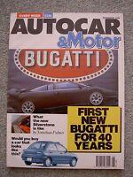 Autocar (20 Feb 1991) Peugeot 605 SRdt, 205 D, Clio 16v, Calibra 4x4, Shogun