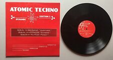 Ref860 Vinyle 33 Tours Atomic Techno 5 Big Bang / Hypnose / Flytox