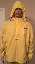 Vintage Chaps Ralph Lauren Hooded Outdoor Ski Rain Jacket Large Made in Russia