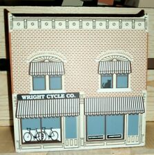 Retired 1995 � The Cat's Meow Village Wright Cycle Shop